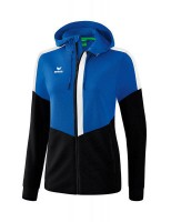 Erima Squad Trainingsjacke mit Kapuze new royal-schwarz Damen