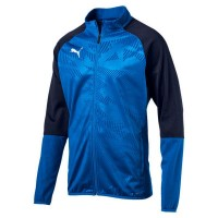 Puma CUP Training Poly Jr Jacket Core blue-peacoat Kinder