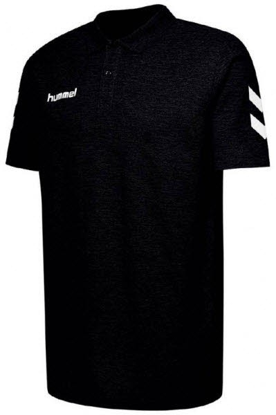 Hummel Go Cotton Polo-Shirt black - Bild 1