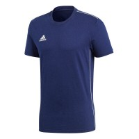 adidas Core 18 T-Shirt dark blue-white Kinder