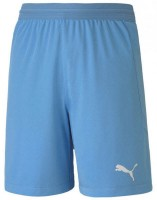 Puma teamFINAL 21 Knit Shorts team light blue Kinder