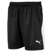 Puma LIGA Jr Shorts puma black-white Kinder