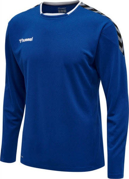 Hummel Authentic Poly Trikot langarm TRUE BLUE Herren - Bild 1