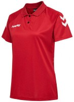 Hummel Core Polo-Shirt true red Damen