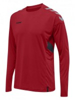 Hummel Tech MoveTrikot Langarm TRUE RED Kinder