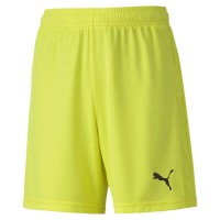 Puma teamGOAL 23 Knit Jr Shorts fluo yellow-black Kinder