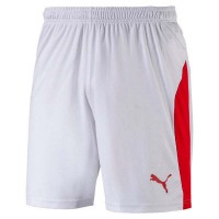Puma LIGA Shorts puma white-puma red Herren