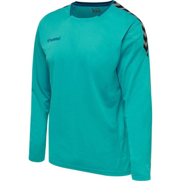 Hummel Authentic Poly Trikot langarm BLUEBIRD Herren - Bild 1
