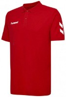 Hummel Go Cotton Polo-Shirt true red