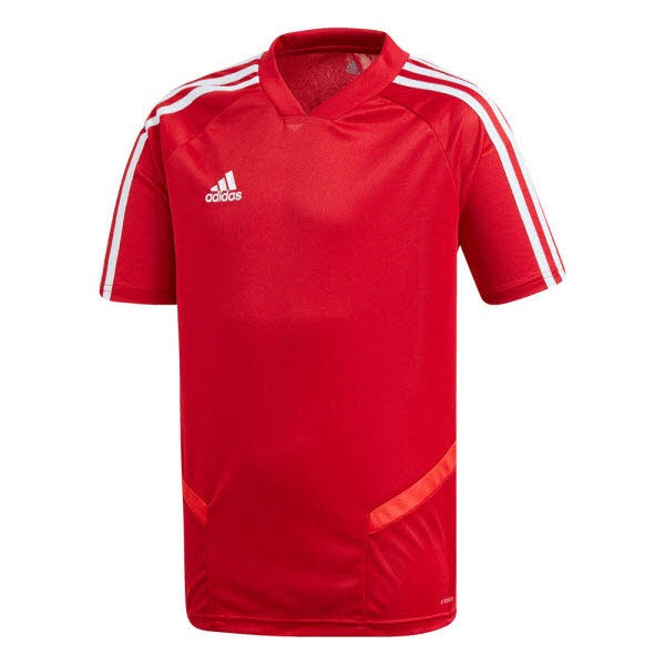 adidas Tiro 19 Trainingstrikot power red-white Kinder - Bild 1