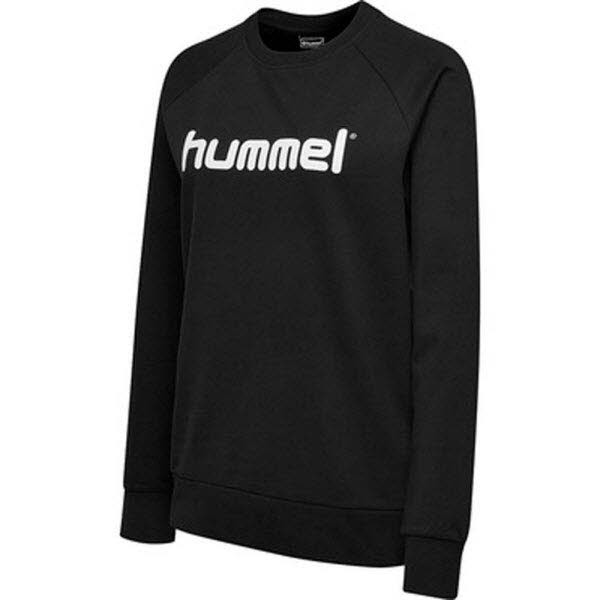 Hummel Go Cotton Logo Sweatshirt black Damen - Bild 1