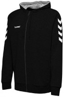 Hummel Go Cotton Kapuzenjacke black Kinder