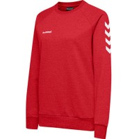 Hummel Go Cotton Sweatshirt true red Damen