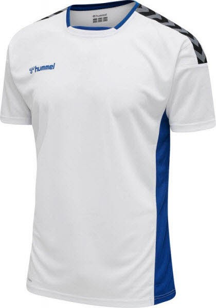 Hummel Authentic Poly Trikot WHITE-BLUE Kinder - Bild 1