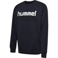 Hummel Go Cotton Logo Sweatshirt marine Kinder