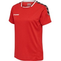 Hummel Authentic Poly Trikot true red Damen