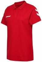 Hummel Go Cotton Polo-Shirt true red Damen