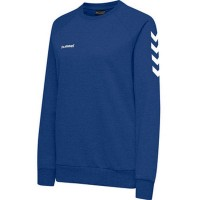 Hummel Go Cotton Sweatshirt true blue Damen