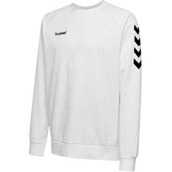 Hummel Go Cotton Sweatshirt white Kinder - Bild 1