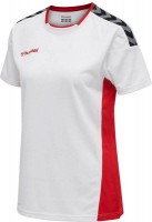 Hummel Authentic Poly Trikot white-red Damen