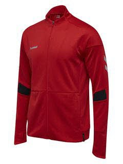 Hummel Tech Move Poly Zip Trainingsjacke TRUE RED Herren - Bild 1