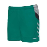 Hummel Tech Move Woman Poly Shorts Damen SPORTS GREEN Damen