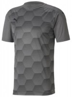Puma teamFINAL 21 Graphic Trikot steel grey-black Herren