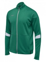 Hummel Tech Move Poly Zip Trainingsjacke SPORTS GREEN Kinder