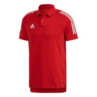 adidas Condivo 20 Poloshirt power red-white Herren