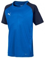 Puma CUP Sideline Core Tee Jr electric blue-blue Kinder