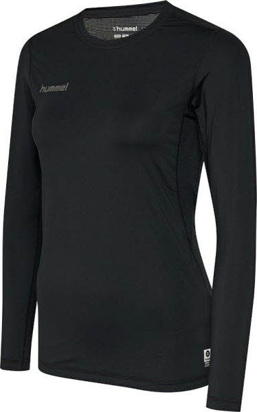 Hummel First Funktionsshirt langarm black Damen - Bild 1