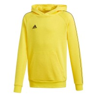 adidas Core 18 Kapuzenpullover yellow-black Kinder