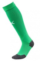 Puma LIGA Socks Stutzenstrümpfe bright green-white