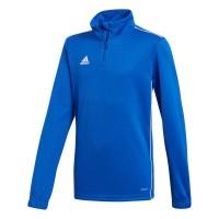 adidas Core 18 Trainingstop bold blue-white Kinder