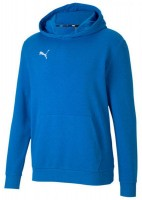 Puma teamGOAL 23 Casuals Hoody ELECTRIC BLUE LEMONA Kinder