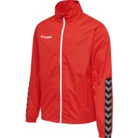 Hummel Authentic Trainingsjacke true red Herren