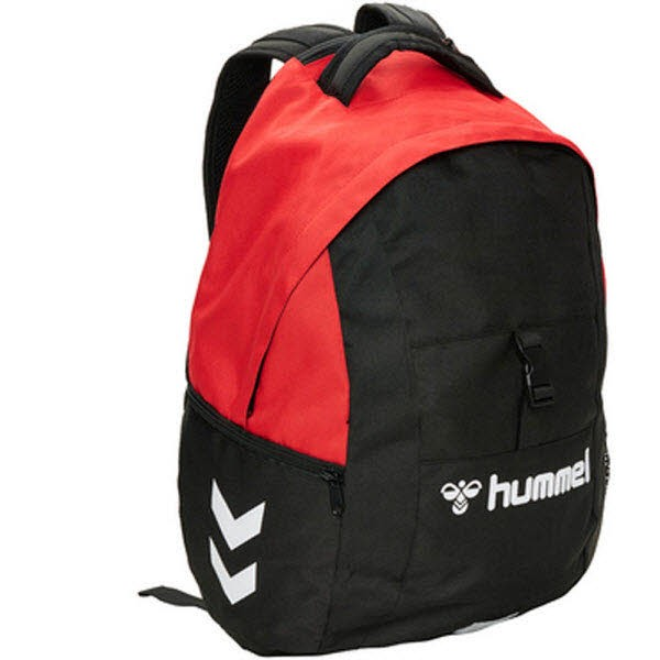 Hummel Core Ball-Rucksack true red Unisex - Bild 1