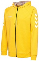 Hummel Go Cotton Kapuzenjacke sports yellow Damen