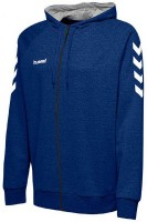 Hummel Go Cotton Kapuzenjacke true blue Herren