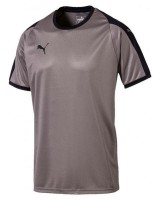 Puma LIGA Jr Trikot steel grey-black Kinder