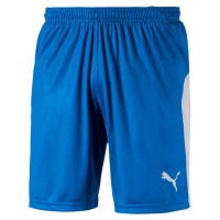 Puma LIGA Shorts electric blue-white Herren
