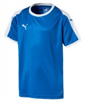 Puma LIGA Jr Trikot electric blue-white Kinder