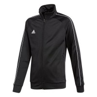 adidas Core 18 Polyesterjacke black-white Kinder