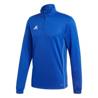 adidas Core 18 Trainingstop bold blue-white Herren
