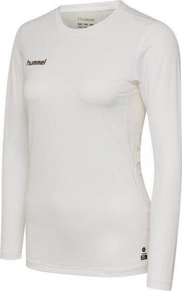 Hummel First Funktionsshirt langarm white Damen - Bild 1