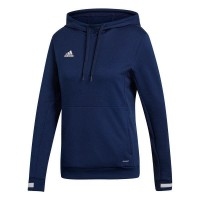 adidas Team 19 Kapuzenpullover navy blue-white Damen