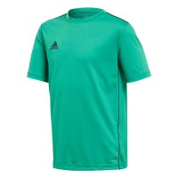 adidas Core 18 Trainingstrikot bold green-white Kinder