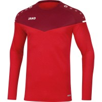 Jako Sweat Champ 2.0 rot-weinrot Kinder