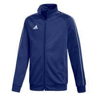 adidas Core 18 Polyesterjacke dark blue-white Kinder