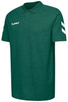 Hummel Go Cotton Polo-Shirt evergreen Kinder